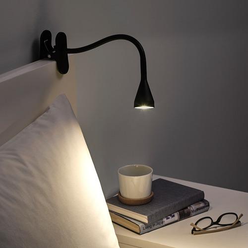 NÄVLINGE - LED夾式射燈, 黑色 | IKEA 香港及澳門 - PE741955_S4