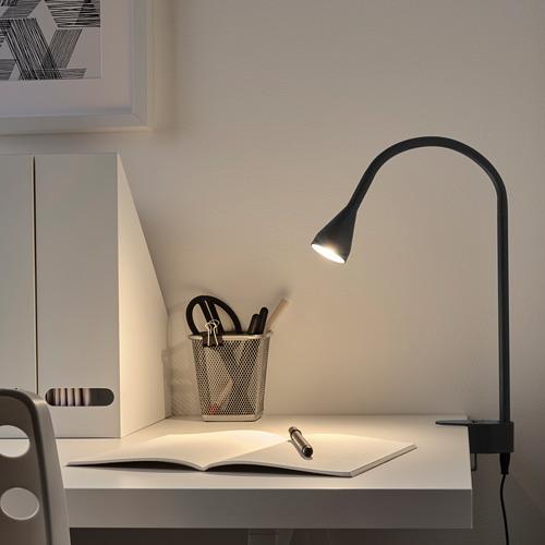 NÄVLINGE - LED壁燈/夾式射燈, 黑色 | IKEA 香港及澳門 - PE741967_S4