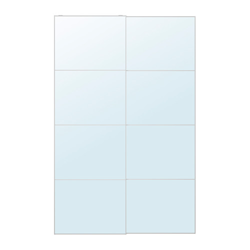 AULI - pair of sliding doors, mirror glass | IKEA Hong Kong and Macau - PE699693_S4