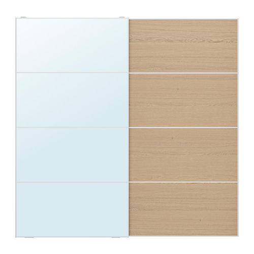 MEHAMN/AULI pair of sliding doors