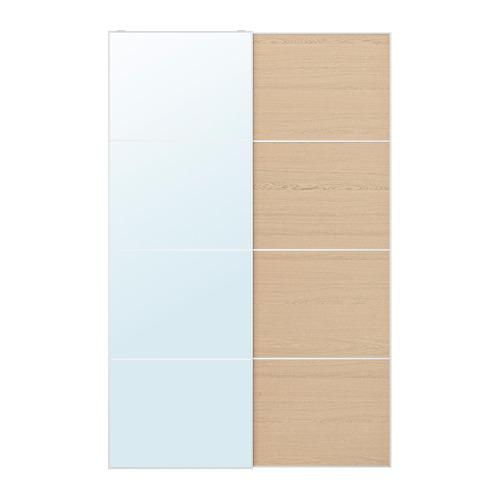 MEHAMN/AULI pair of sliding doors, 150x236 cm