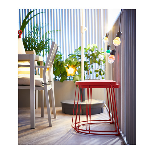 TRANARÖ - stool/side table, in/outdoor, red | IKEA Hong Kong and Macau - PH158833_S4