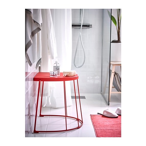 TRANARÖ - stool/side table, in/outdoor, red | IKEA Hong Kong and Macau - PH158146_S4