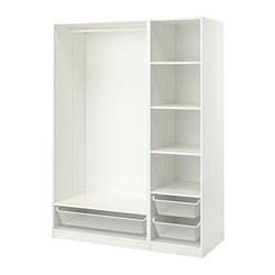 PAX - 衣櫃組合, 白色 | IKEA 香港及澳門 - PE778701_S3