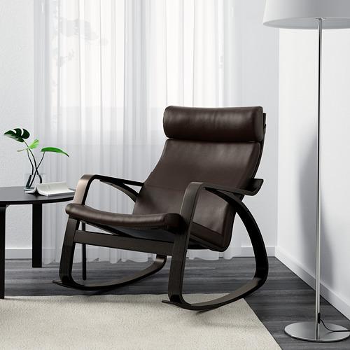 POÄNG - rocking-chair, black-brown/Glose dark brown | IKEA Hong Kong and Macau - PE600947_S4