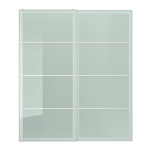 SEKKEN - pair of sliding doors, frosted glass | IKEA Hong Kong and Macau - PE699881_S4