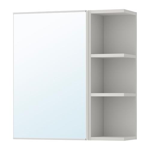 LILLÅNGEN 單門鏡櫃連1邊櫃