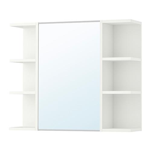 LILLÅNGEN - 單門鏡櫃連2邊櫃, 白色 | IKEA 香港及澳門 - PE699915_S4