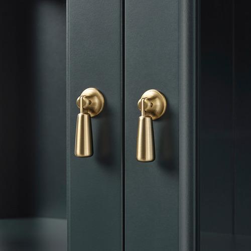 LOMMARP - 玻璃門貯物櫃, 深藍綠色 | IKEA 香港及澳門 - PE742070_S4