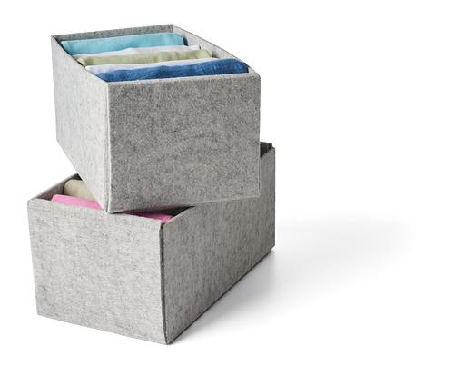 KOMPLEMENT - 貯物箱, 淺灰色   IKEA 香港及澳門 - PH161490_S4