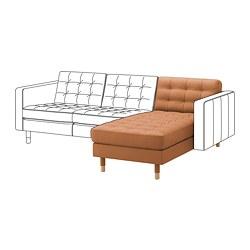 LANDSKRONA - 躺椅(組合用), Grann/Bomstad 柚木色/木 | IKEA 香港及澳門 - PE699944_S3