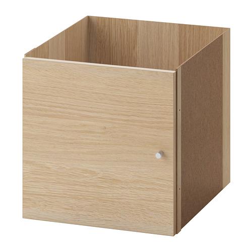 KALLAX - 單門貯物格, 染白橡木紋   IKEA 香港及澳門 - PE699974_S4