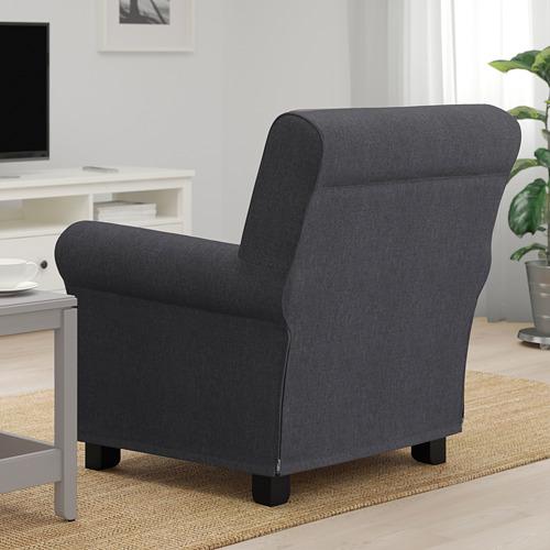 GRÖNLID - 扶手椅, Sporda 深灰色   IKEA 香港及澳門 - PE690456_S4