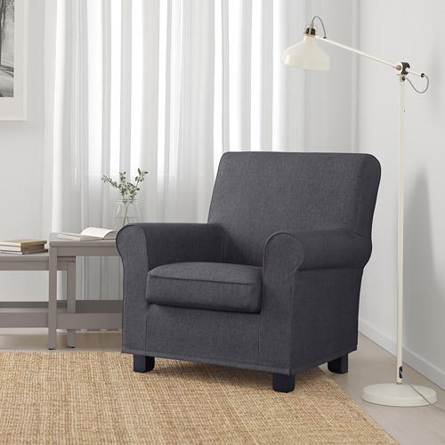 GRÖNLID - 扶手椅, Sporda 深灰色   IKEA 香港及澳門 - PE690457_S4