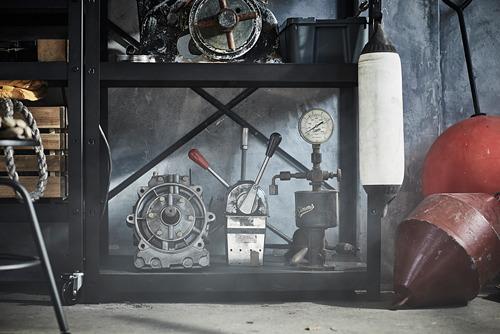 BROR - 層架組合, 85x55x190 cm, 黑色 | IKEA 香港及澳門 - PE795098_S4