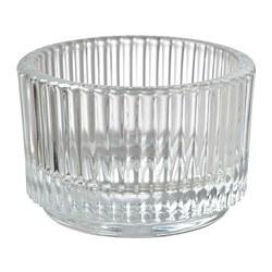 FINSMAK - 燭燈座, 透明玻璃 | IKEA 香港及澳門 - PE795200_S3