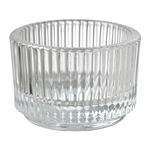 FINSMAK - 燭燈座, 透明玻璃 | IKEA 香港及澳門 - PE795200_S4