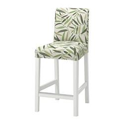 BERGMUND - 高腳凳連靠背, 高97cm, 白色/Fågelfors 彩色 | IKEA 香港及澳門 - PE795251_S3