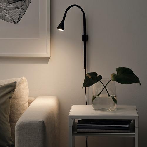 NÄVLINGE - LED壁燈/夾式射燈, 黑色 | IKEA 香港及澳門 - PE742175_S4