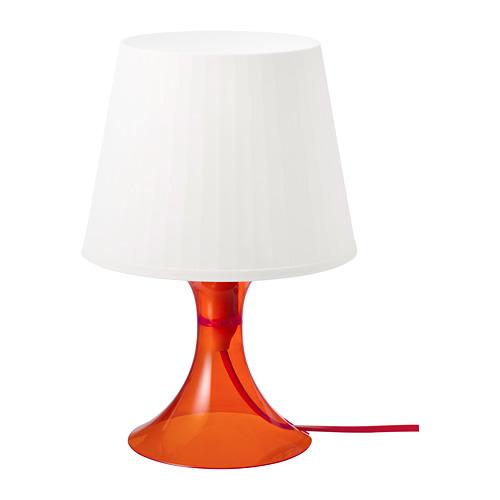 LAMPAN - 座檯燈, 橙色/白色 | IKEA 香港及澳門 - PE778771_S4