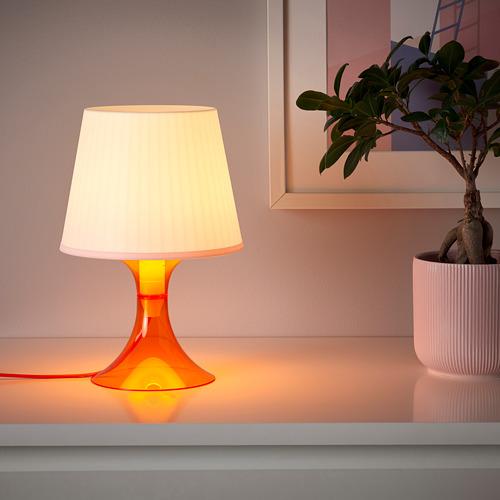 LAMPAN - 座檯燈, 橙色/白色 | IKEA 香港及澳門 - PE778770_S4