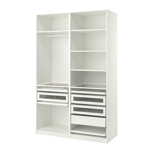 PAX - wardrobe combination, white | IKEA Hong Kong and Macau - PE778782_S4