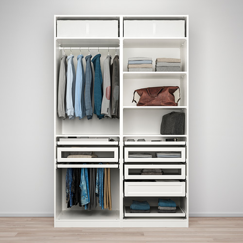 PAX - wardrobe combination, white | IKEA Hong Kong and Macau - PE778781_S4