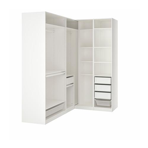 PAX - 角位衣櫃, 白色   IKEA 香港及澳門 - PE778784_S4