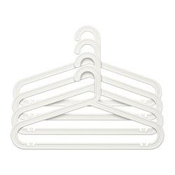 BAGIS - 衣架,室內/戶外用, 白色 | IKEA 香港及澳門 - PE273963_S3