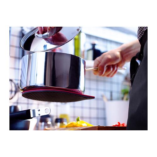 IKEA 365+ GUNSTIG - 磁性隔熱墊, 紅色/深灰色 | IKEA 香港及澳門 - PE294856_S4