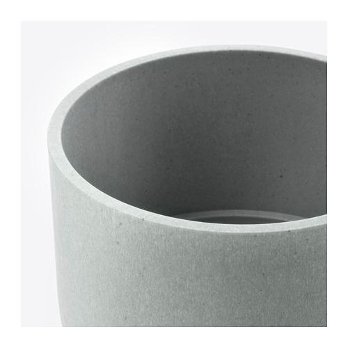 NYPON - plant pot, in/outdoor grey | IKEA Hong Kong and Macau - PE700330_S4