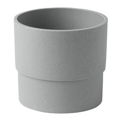 NYPON - plant pot, in/outdoor grey | IKEA Hong Kong and Macau - PE700331_S3