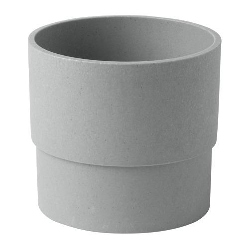 NYPON - plant pot, in/outdoor grey | IKEA Hong Kong and Macau - PE700331_S4
