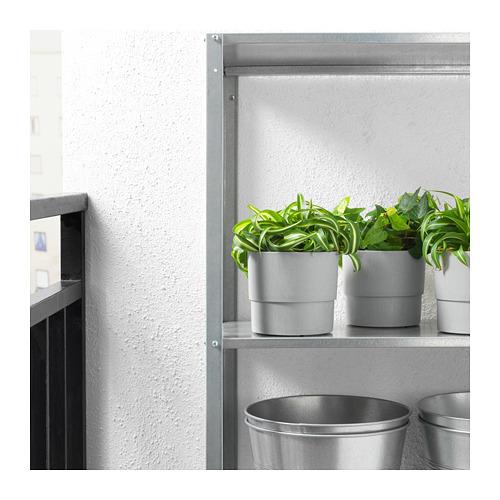 NYPON - plant pot, in/outdoor grey | IKEA Hong Kong and Macau - PE700337_S4