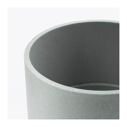NYPON - plant pot, in/outdoor grey | IKEA Hong Kong and Macau - PE700338_S4
