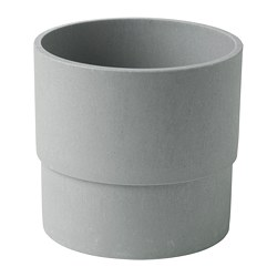 NYPON - plant pot, in/outdoor grey | IKEA Hong Kong and Macau - PE700339_S3