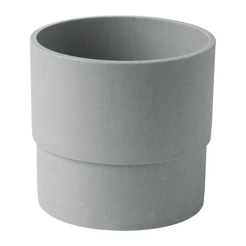 NYPON - plant pot, in/outdoor grey | IKEA Hong Kong and Macau - PE700339_S4