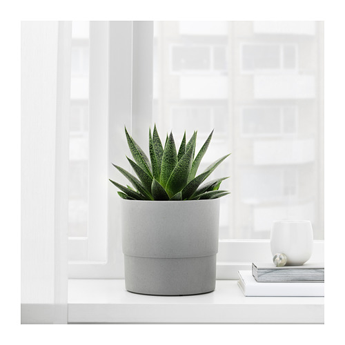 NYPON - plant pot, in/outdoor grey | IKEA Hong Kong and Macau - PE700344_S4