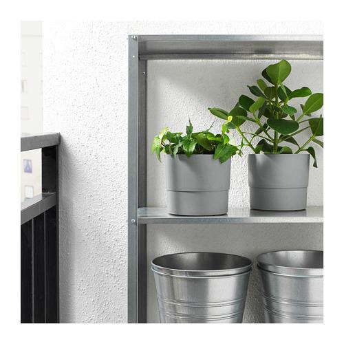 NYPON - plant pot, in/outdoor grey | IKEA Hong Kong and Macau - PE700345_S4
