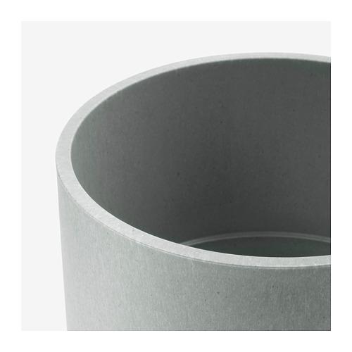 NYPON - plant pot, in/outdoor grey | IKEA Hong Kong and Macau - PE700346_S4