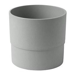 NYPON - 花盆, 室內/戶外用 灰色 | IKEA 香港及澳門 - PE700347_S3