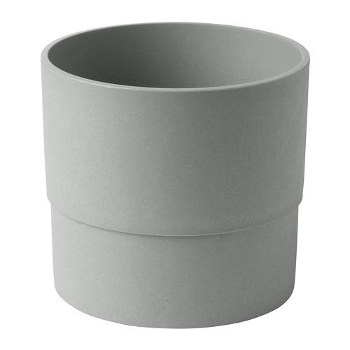 NYPON - plant pot, in/outdoor grey | IKEA Hong Kong and Macau - PE700347_S4
