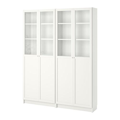 OXBERG/BILLY - bookcase, white | IKEA Hong Kong and Macau - PE700276_S4