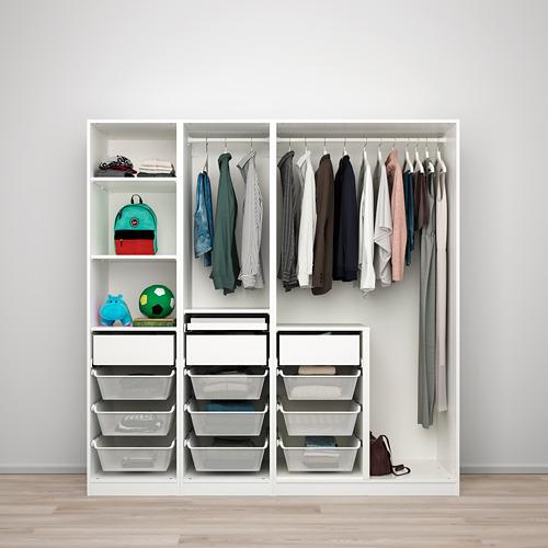 REINSVOLL/PAX - 衣櫃組合, 灰米黃色   IKEA 香港及澳門 - PE778785_S4