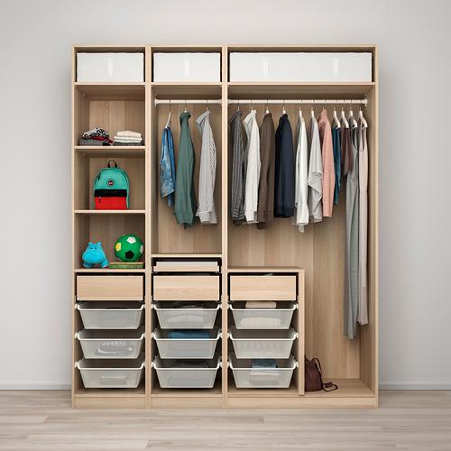 PAX/SVARTISDAL wardrobe combination