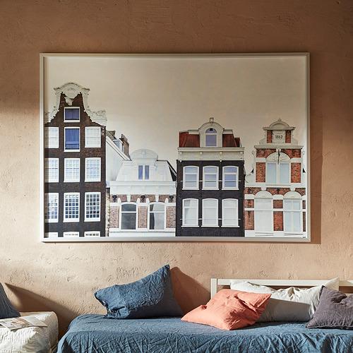 BJÖRKSTA - 畫連框, 阿姆斯特丹的建築/鋁色 | IKEA 香港及澳門 - PE840904_S4