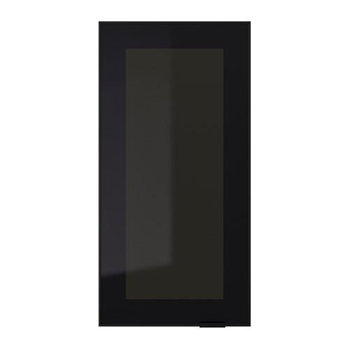 JUTIS - glass door, smoked glass/black | IKEA Hong Kong and Macau - PE700305_S4