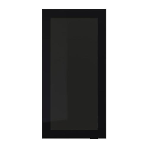 JUTIS - glass door, smoked glass/black | IKEA Hong Kong and Macau - PE700308_S4
