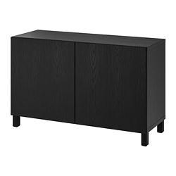 BESTÅ - 貯物組合連門, 棕黑色/Timmerviken/Stubbarp 黑色 | IKEA 香港及澳門 - PE742286_S3