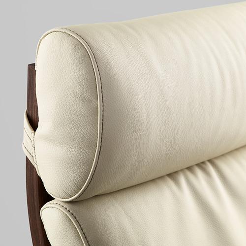 POÄNG - armchair, brown/Glose eggshell | IKEA Hong Kong and Macau - PE585723_S4